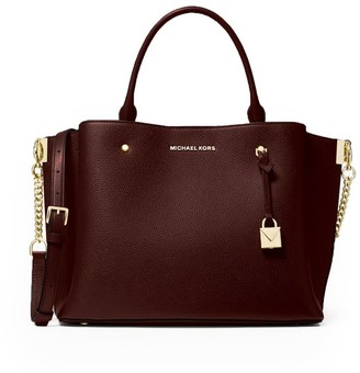 Michael Kors Arielle Large Handbag Bordeaux