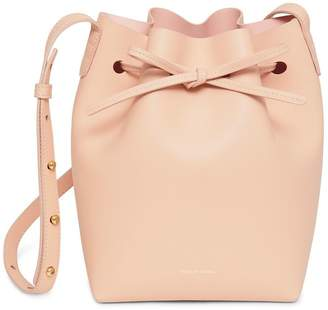 Mansur Gavriel Calf Mini Bucket Bag - Rosa