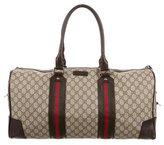 Gucci GG Plus Web Duffle Bag