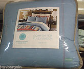 Martha Stewart Full / Queen Comforter Independence Chambray Blue