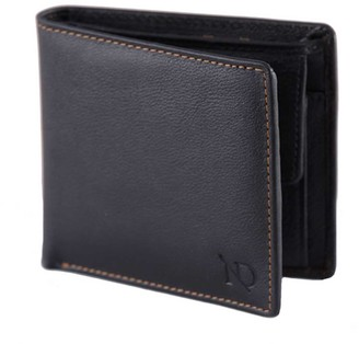 Arthur Black Leather Coin Wallet