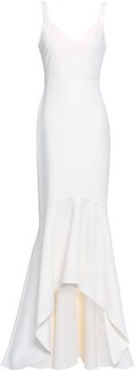 Cinq à Sept Asymmetric Ruffled Jersey Gown