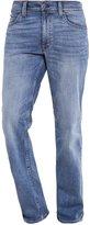 Mustang Tramper Straight Leg Jeans Dark Blue Denim