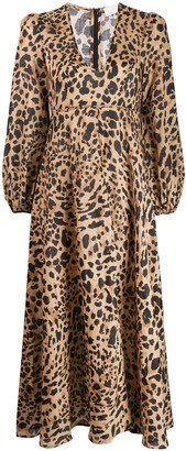 Zimmermann Leopard Print Dress