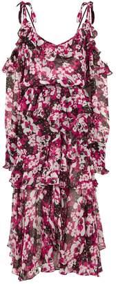MISA Los Angeles Catriona Floral Midi Dress