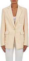 3.1 Phillip Lim WOMEN'S SINGLE-BUTTON CADY BLAZER-LIGHT PINK SIZE 4