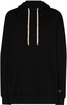 Champion x Pentagram logo-print hoodie