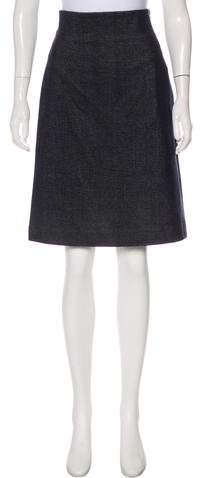 08 Sircus Denim Knee-Length Skirt w- Tags