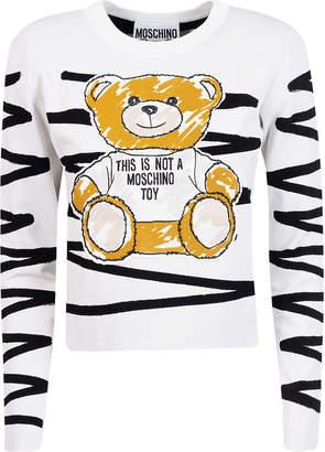 Moschino Embroidered Bear Sweatshirt