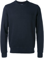 Woolrich crew neck sweatshirt - men - Cotton - L