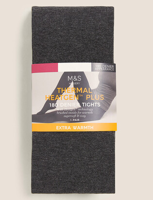 Marks and Spencer 180 Denier Thermal Heatgen Plus Tights