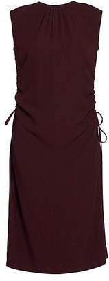 Marni Ruched Midi Dress
