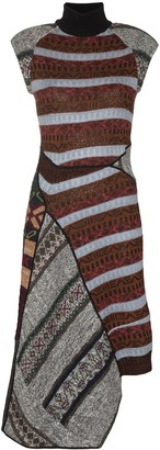 Marine Serre Patchwork Dress
