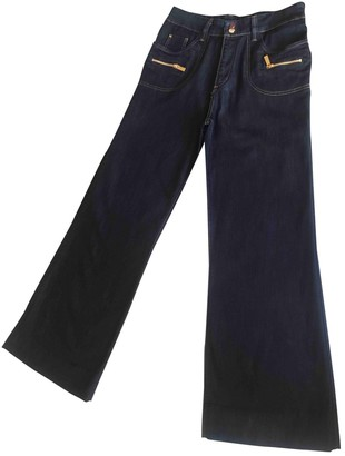 Barbara Bui Navy Cotton - elasthane Jeans for Women
