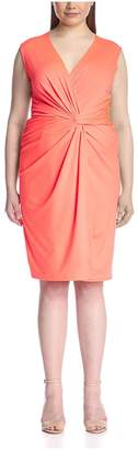 JB by Julie Brown Plus JB Julie Brown Plus Women's Lucia Sleeveless Wrap Dress