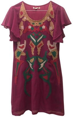 Vivienne Tam Purple Silk Dress for Women
