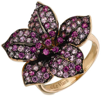 LeVian Le Vian Strawberry Gold 1.94 Ct. Tw. Pink Sapphire Ring