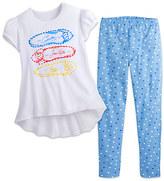 Disney Princess Top and Leggings Set for Girls