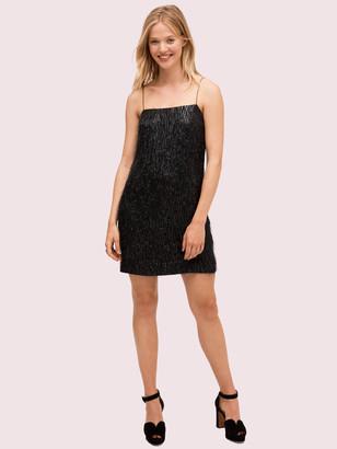 Kate Spade Lurex Fringe Dress