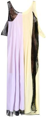 Maison Margiela Long Color Block Dress