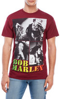 Zion Rootswear Bob Marley Collage Graphic T-Shirt