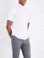 HUGO BOSS Regular-fit cotton-piqué shirt