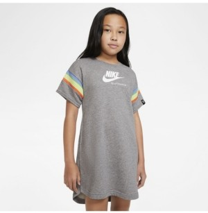Nike Sportswear Heritage Big Girl's Short-Sleeve Dress