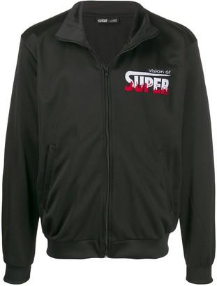 Vision Of Super Flames logo jacket