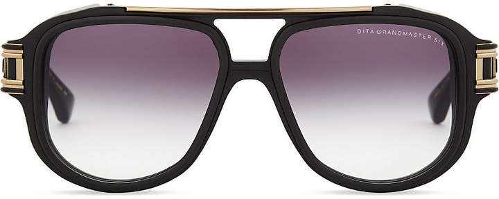 Dita Grandmaster-Six pilot-frame sunglasses
