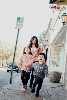 LIMITED EDITION - Home Girl and Home Boy Sweatshirts, Mommy and Me, Home Girl, Home Boy, Mom and Son, Mom and Daughter, Mommy Me