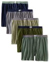 Fruit of the Loom Men's 5-Pack Soft Stretch Knit Boxer - Colors May Vary, Assorted, X-Large