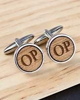 Personalised Wooden Cufflinks