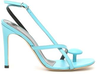 Coperni Open Toe Thong Sandals