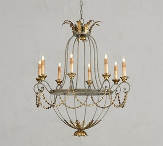 Pottery Barn Indeco Chandelier
