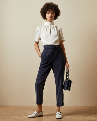 Ted Baker KAMARI Peg leg trousers with belt