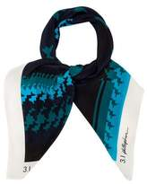 3.1 Phillip Lim Abstract Print Scarf