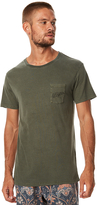 rhythm Pocket Mens T Shirt Green