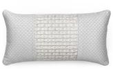 """Hotel Collection Finest Crescent Beaded 10"""" x 20"""" Decorative Pillow"""