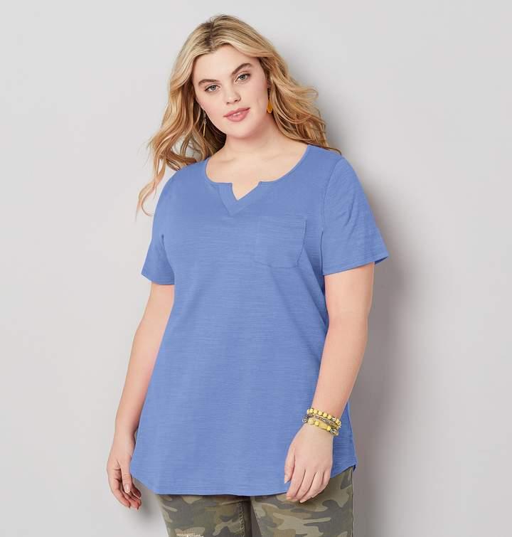 5b5664ffff4a Womens Light Blue Long Sleeve T-shirts - ShopStyle