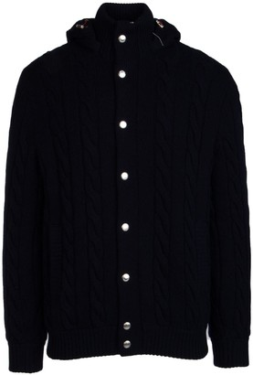 Brunello Cucinelli Buttoned Hooded Cardigan