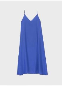 Emin & Paul - Royal Blue A Line Slip Dress - small