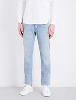 Sandro Regular-fit tapered stretch-denim jeans