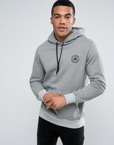 Converse Micro Dot Pull Over Hoodie In Grey 10003601-A01