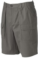 Croft & Barrow Men's Relaxed-Fit Side-Elastic Cargo Shorts
