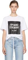 Opening Ceremony White Logo T-shirt