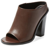 Tibi Leona Leather Mule