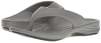 Aetrex Lynco Flip (Black) Women's Sandals