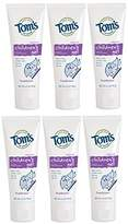 Tom's of Maine Natural Children's Fruitilicious Fluoride Anticavity Gel