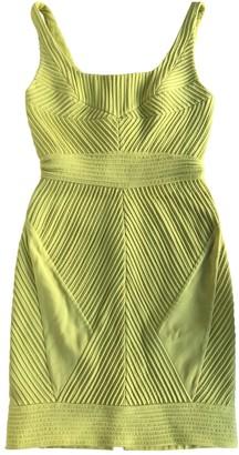 Zac Posen Yellow Silk Dresses