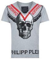 Philipp Plein Embellished Triangles T-shirt